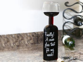 Vinglassflaske