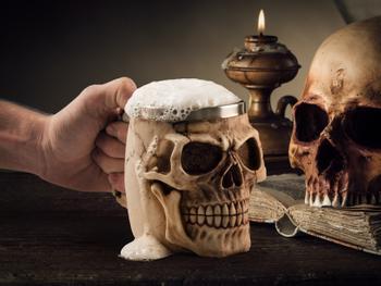 Dødninghodeseidelen Skull Mug