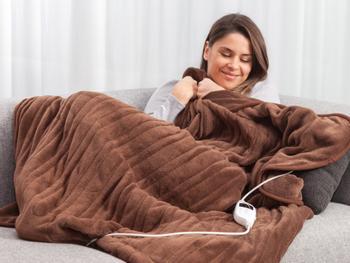 Cozy elektrisk varmepledd deluxe