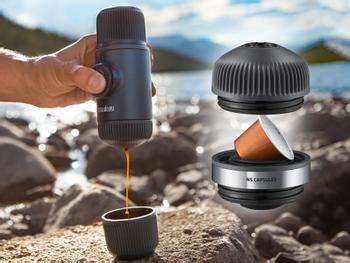 Nanopresso NS bærbar espressomaskin