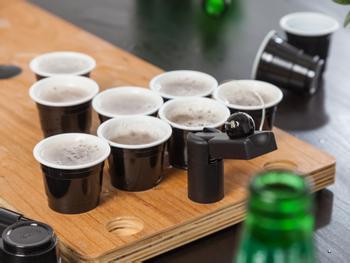 Spralla Mini Beer Pong Plastkopper 20-pack