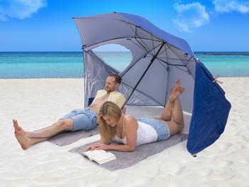 Utenu UV-parasoll med vindbeskyttelseUtenu UV-para