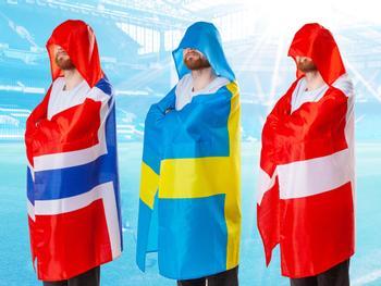 Supportercape Norge