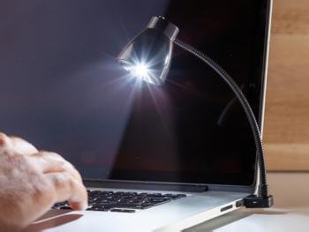 Spralla USB-skrivebordslampe