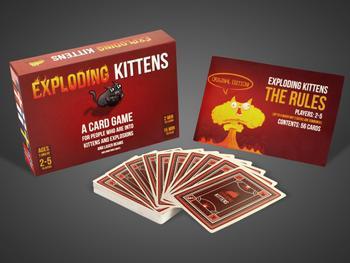 Exploding Kittens-kortspill