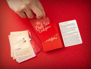 Kortspillet Oral Sex