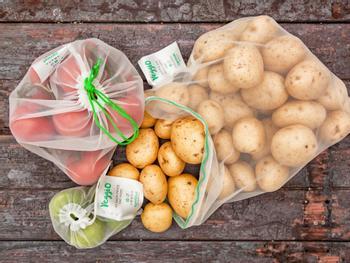 Veggio-poser til frukt og grønt 5-pakning