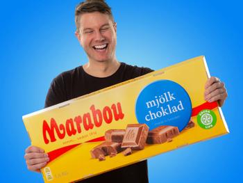 Gigantisk Sjokolade Marabou