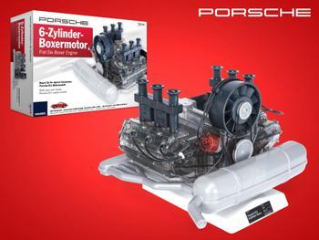 Porsche 6-sylindret boksermotor byggesett