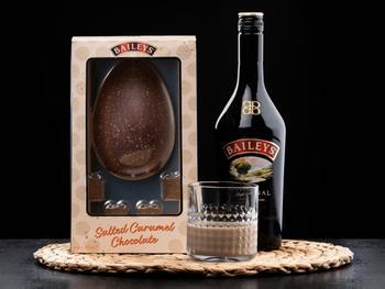 Baileys Salted Caramel-sjokoladeegg