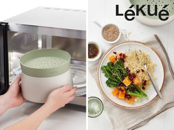 Quinoa- og riskoker til mikrobølgeovn - Lékué