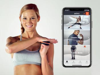 Activ5 smart bærbart treningsredskap