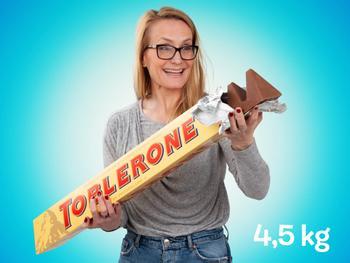 Megastor Toblerone sjokolade