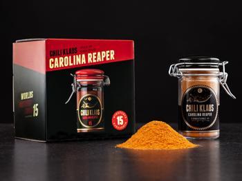Chili Klaus Carolina Reaper chilipulver