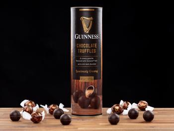 Guinness-trøfler i gaveeske