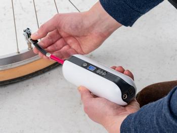 Vooni® Luftpumpe med trykkmåler