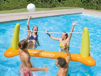 Intex oppblåsbart volleyballsett