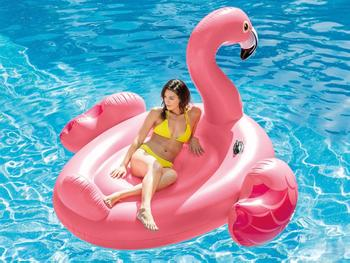 Intex Flamingo mega-luftmadrass