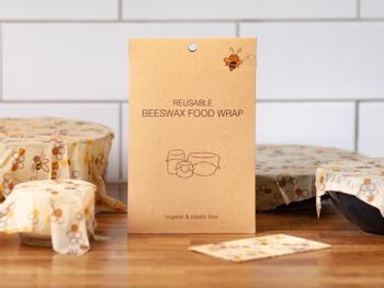 Beeswax Food Wrap bivokspapir 5-pakning
