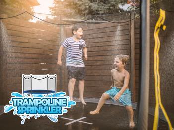 Outlust vannspreder til trampolinen