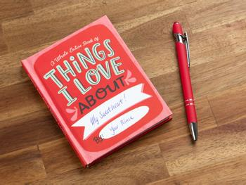 Things I Love About You fyll-ut-bok