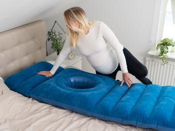 Zenkuru Oppblåsbar madrass til gravide