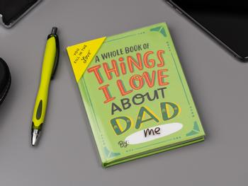 Things I Love About Dad-bok
