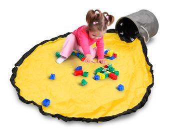 Spralla oppbevaringseske med lekematte