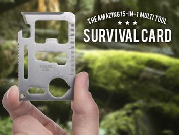 Outlust Survival Card - Universalverktøy
