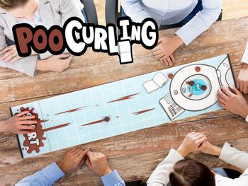 Poo Curling-spill