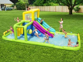 Bestway H2OGO! Splash Course oppblåsbar vannpark