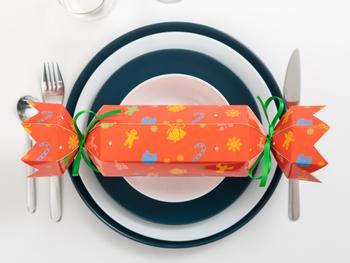 Lag dine egne Christmas Crackers 4-pakning