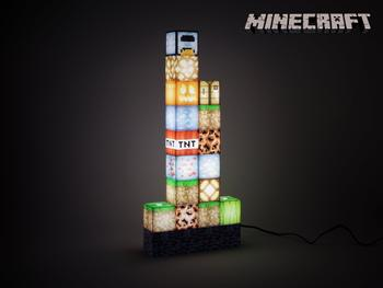 Minecraft Block Building-lampe