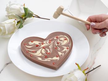 Hjerteknuser-sjokolade