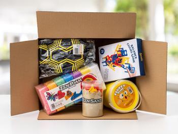 Hjemme med sykt barn-pakke