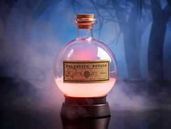 Harry Potter Polyjuice Potion fargeskiftende lampe