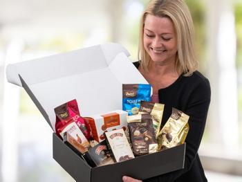 Gaveeske til sjokoladeelskeren