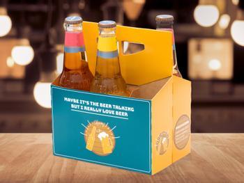 Øl-kartong til øl-elskeren