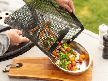 KitchPro® Non-stick grillposer 2-pakning