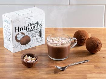 Sjokoladebomber for kakao 4-pakning