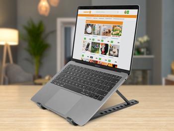 Justerbart mini laptopstativ