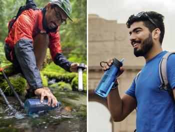 LifeStraw Go-flaske med vannrensing