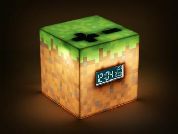 Minecraft digital vekkerklokke