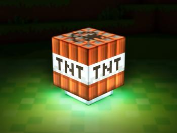 Minecraft TNT-lampe