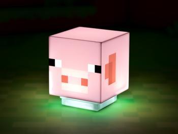 Minecraft Pig-lampe