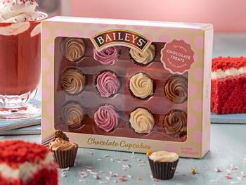 Baileys Cupcakes konfekteske