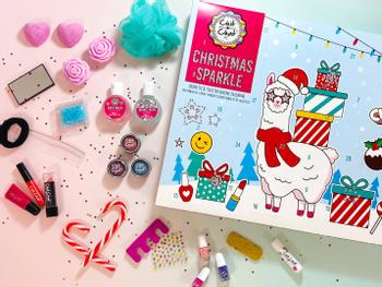 Chit Chat Christmas Sparkle julekalender med sminke