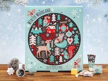 Winter Woodland spa-julekalender