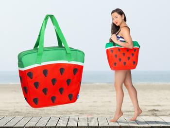 Vannmelon-kjøleveske