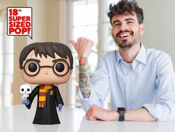 Funko Pop! Super Sized Harry Potter